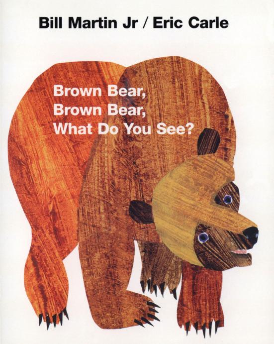 【看图识物】棕熊棕熊你看到了什么