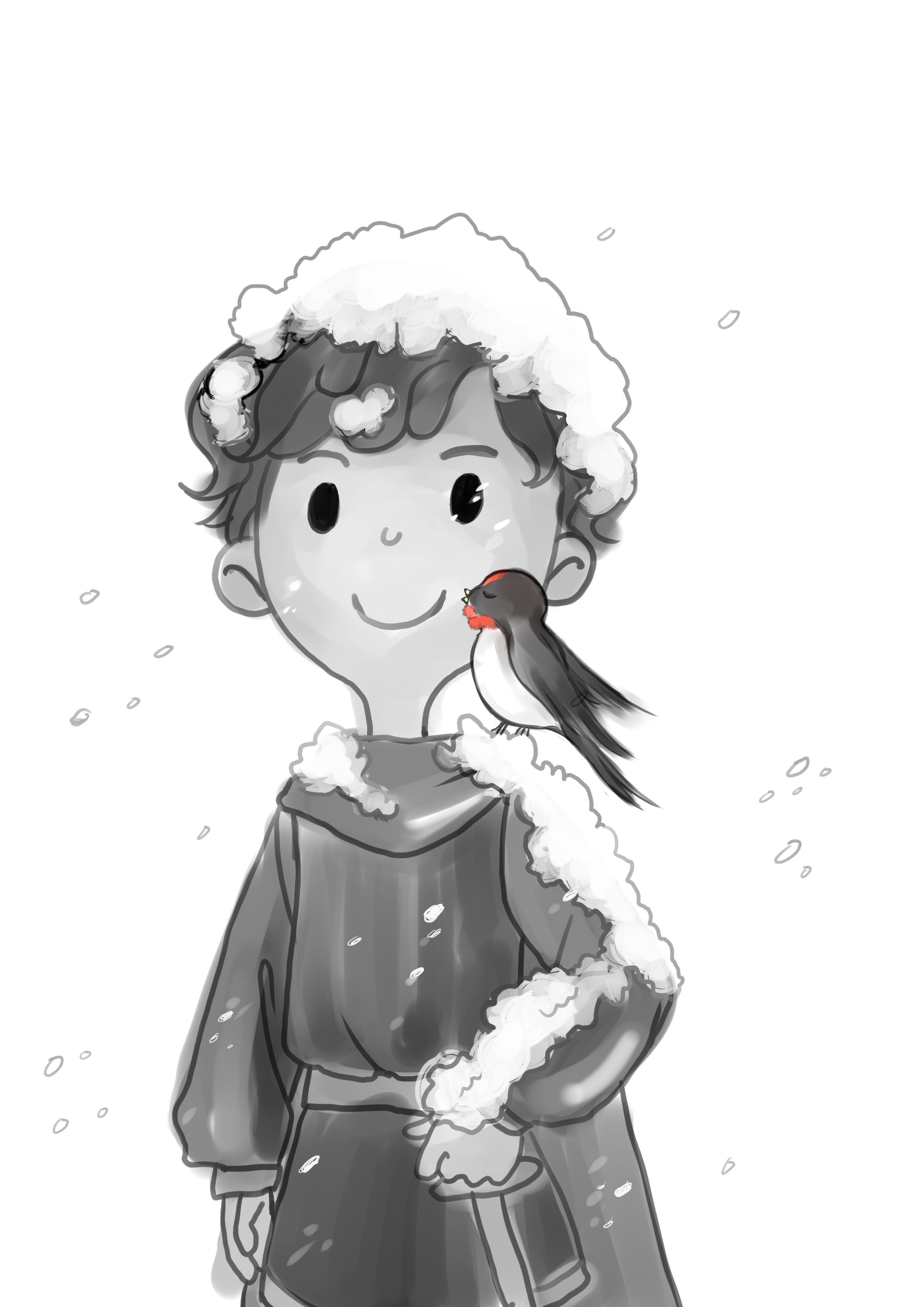快乐王子要求小燕子为他做信差