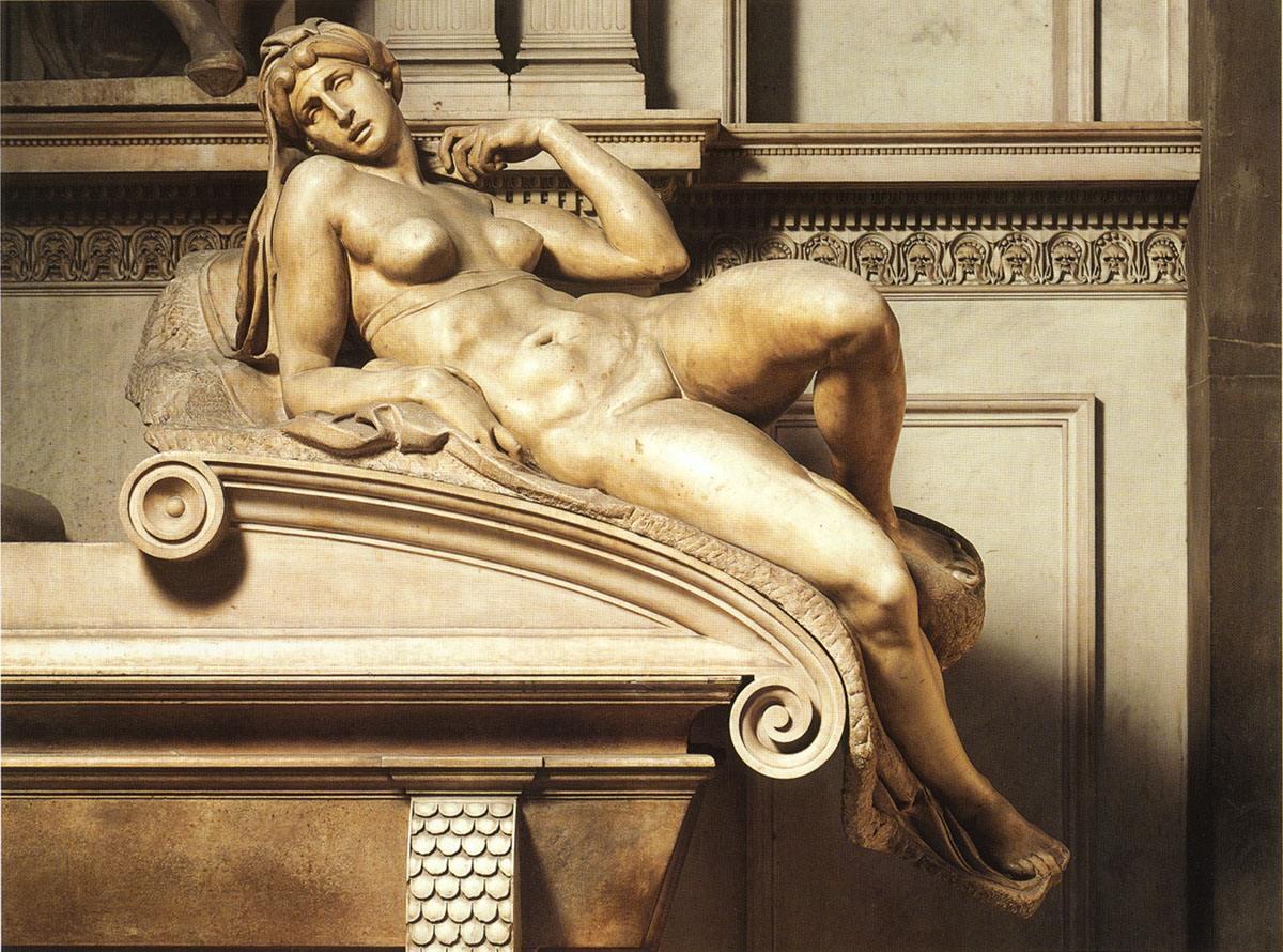 音乐 贝多芬--悲怆奏鸣曲 Ludovico Einaudi - Andare Kim Taylor - I Am You 正文: 封面是米开朗基罗的雕刻《下十字架》也叫《圣母怜子》,在这尊雕像中米开朗基罗把自己雕刻在里面,很多当时的绘画或者雕塑都有把资助人加入作品的例子,但是这种把作者独自加入神圣题材的案例我只看到过着一个。  摩西像 后人指出摩西当时头上是盖了一层手帕,因为他的光芒太强烈,希伯来人感到了害怕。但是当时的翻译把手帕翻译成了犄角,所以米开朗基罗的雕刻就是带犄角的摩西。另外还有多个奴隶像都是