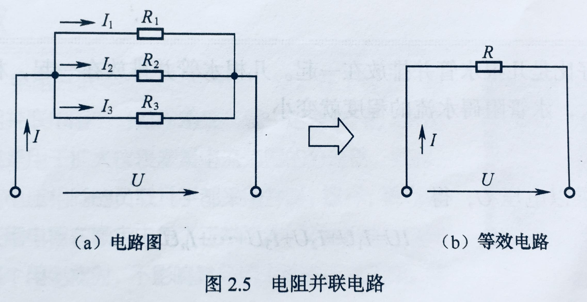 2.1 电阻的串联和并联电路