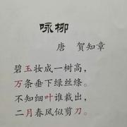 识字0310-咏柳-喜马拉雅fm