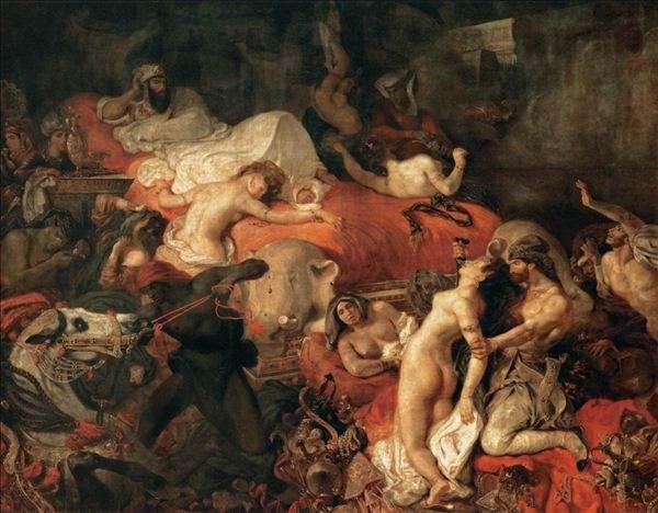 《土耳其宫女与女奴》第二版 5安格尔《维纳斯的诞生》 6安格尔《泉》图片