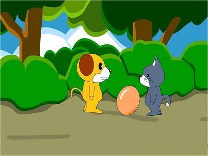 黄色小故事给一个_首先一起听一个可爱的故事,一只黄狗孵蛋的故事.