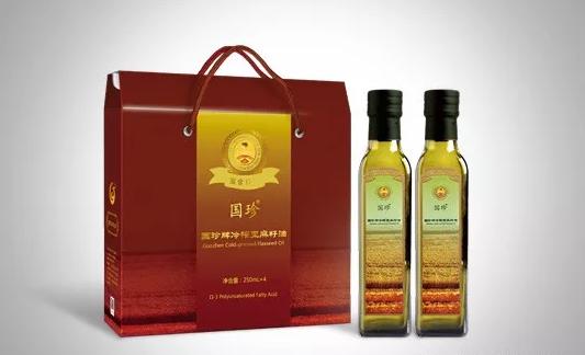 國珍冷榨亞麻籽油圖片