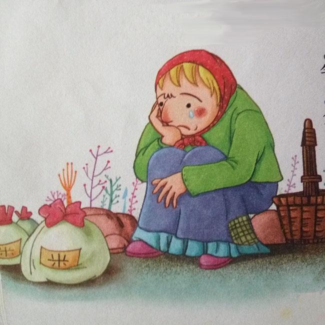 兒童感恩母親圖畫