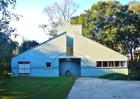 罗伯特·文丘里建筑作品:母亲的房子图片