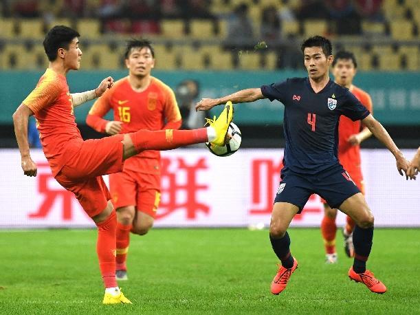 国足0:1负于泰国 无缘中国杯决赛