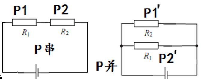 r1/r2=1:3;把电阻r1和r2分别串联和并联到电压为u的电路中