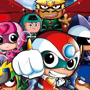 小心超人五个可爱的小超人为保卫家园团结一心,与大大怪将军和小小怪